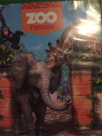 Zoo tycoon xbox one never used Whitby, L1N 5X1