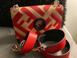 Brand new fendi with two straps
