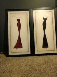 Cute pictures over 3 feet tall!  $40 for set