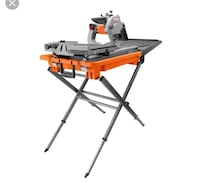 RIDGID 8 in. Jobsite Wet Tile Saw Vaughan, L4L 3L6