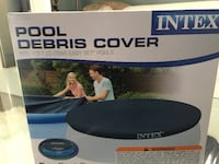 black Intex pool debris cover box ROCKVILLE