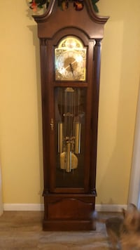 brown wooden framed grandfather clock Gaithersburg, 20879