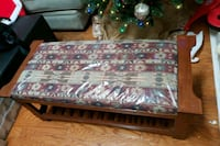 brown and white floral fabric sofa 903 mi