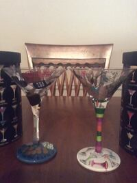 Hand painted martini glasses North Providence, 02904