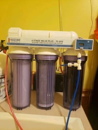 RO/DI 4 Stage BRS water filter