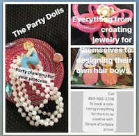 party planning for girls ages 5 to 13 Wind Gap, 18072