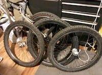 Downhill rims & profile downhill mtd hubs in great condition 2335 mi