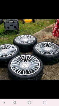 Venice wheels and tires. Waxahachie