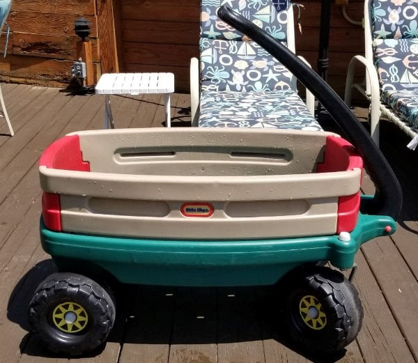LARGE LITTLE TYKES ALL TERRAIN WAGON - THIS IS A BIGGER WAGON