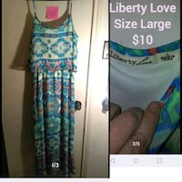 Liberty love dress Garland, 75041