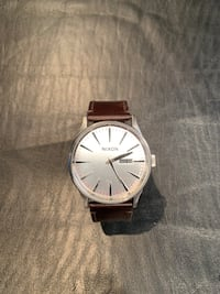 Nixon Brown Leather Watch Calgary, T2Y 4X4