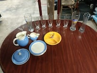 Various china, glass ware, and 1960 van nuys piece Greencastle, 17225