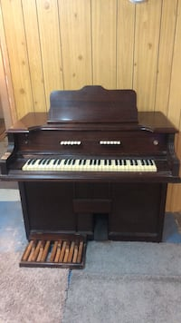 black and brown upright piano Edmonton, T5R 5K1