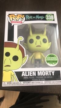 Pop! Animation Rick and Morty 338 Aline Morty vinyl figure box Barrie, L4N 0C1
