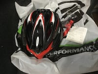 Black red and white bike helmet Indianapolis, 46220