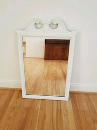 White mirror in solid wood frame Catonsville, 21228