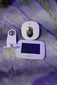 Angel Care baby monitor with sound, motion sensor, camera has sound