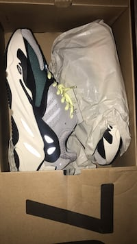 pair of white-and-black Nike basketball shoes Syracuse, 13206