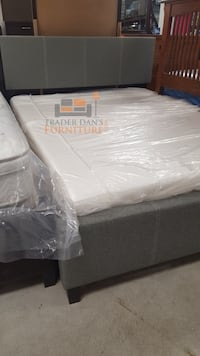 Brand new full size platform bed frame with pillowtop mattress  Silver Spring, 20902