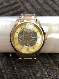 Relic 43mm Goldtone Watch, RZ125567 Humble, 77396