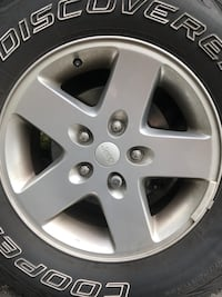 5 Jeep Wrangler rims (tires not included) Blairstown, 07825