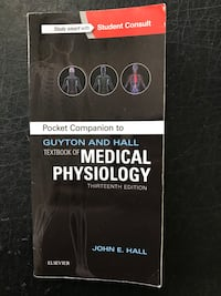 Pocket Companion to Guyton and Hall Textbook of Medical Physiology, 13e San Diego, 92116