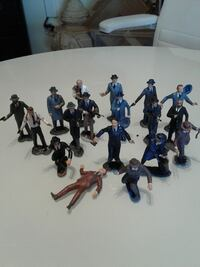 Gangsters figurines collectibles