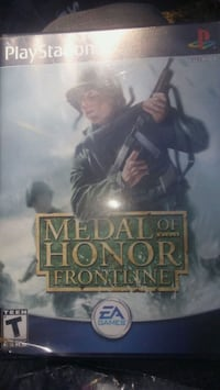 PS2 METAL OF HONOR FRONTLINE GAME Toms River, 08757