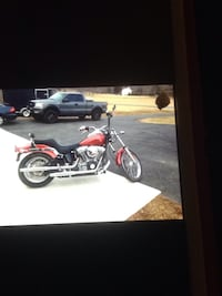 black and red touring motorcycle Baltimore, 21236
