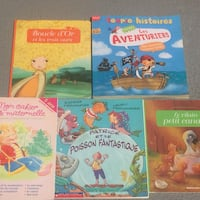 French kids activity books paperback