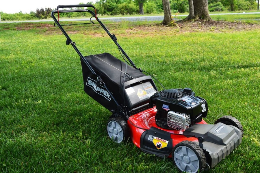 snapper self propelled lawn mower manual