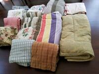 16-EACH Comforters (PERFECT FOR MOVING BLANKETS)full to queen,used