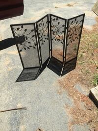 Embellished Fireplace Screen , 02464