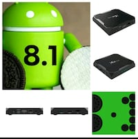 New/Latest Android OS 8.1 Box 16 GIGS 3809 km