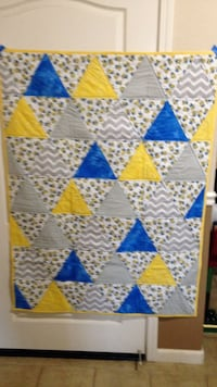 Minion quilt is 100% cotton. New handmade Sacramento, 95838