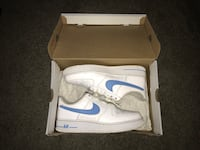 White & Blue Nike Air Force 1's Huber Heights, 45424