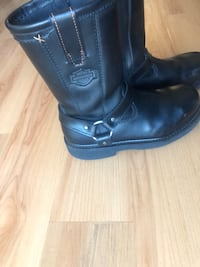 Harley Davidson steel toe motorcycle boots Los Angeles, 90007