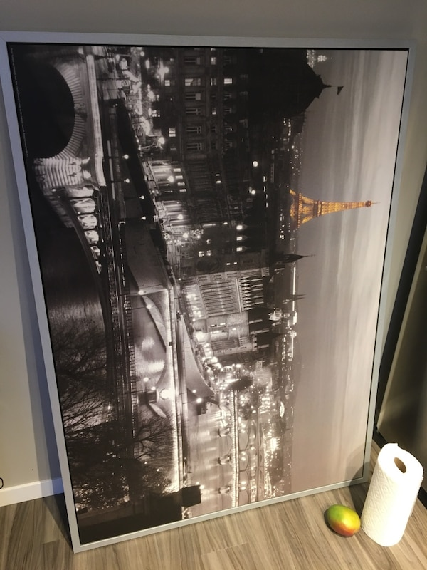 Large Hanging Picture (Eiffel Tower, Paris) c0ab2837-092d-4db2-acaa-749c8fecaa22