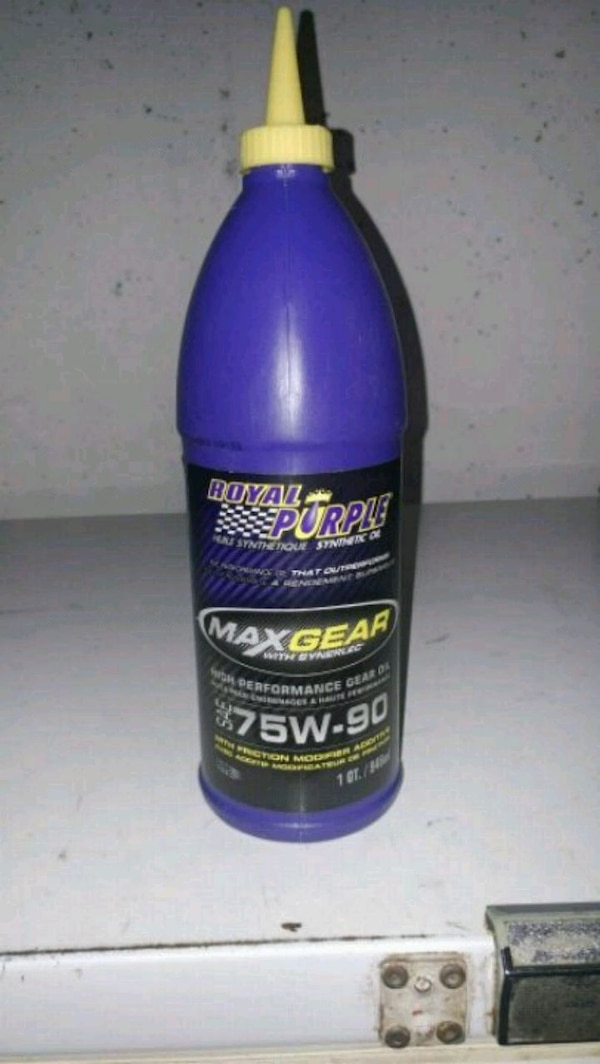 Hardly used axel oil