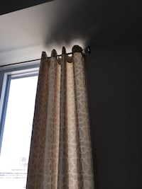 MOVING SALE - BRAND NEW CURTAINS WITH RODS Montréal, H4N