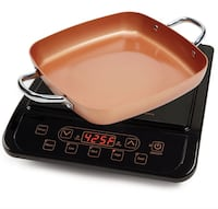 Copper Chef Stainless Steel Cerami-Tech Non-Stick Coating Power Darien, 60561