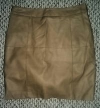 Brown leather skirt Summerville, 29483