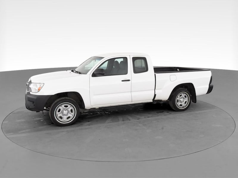 2015 Toyota Tacoma Access Cab pickup Pickup 4D 6 ft White <br 560594c8-f6db-4894-8f2a-81a0192653ae