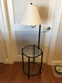 Side/End Table with 2 Shelves and Lamp Monrovia, 21770