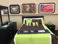 Black 7 Piece Bedroom Set  Norfolk, 23502