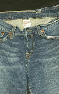 Lucky Brand Midrise Flare 6/28