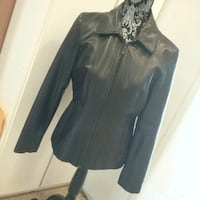 Kenneth Cole Reaction leather jacket, as M Mississauga, L5R 3E6