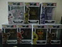 six Pop ! vinyl figures Palmdale, 93552