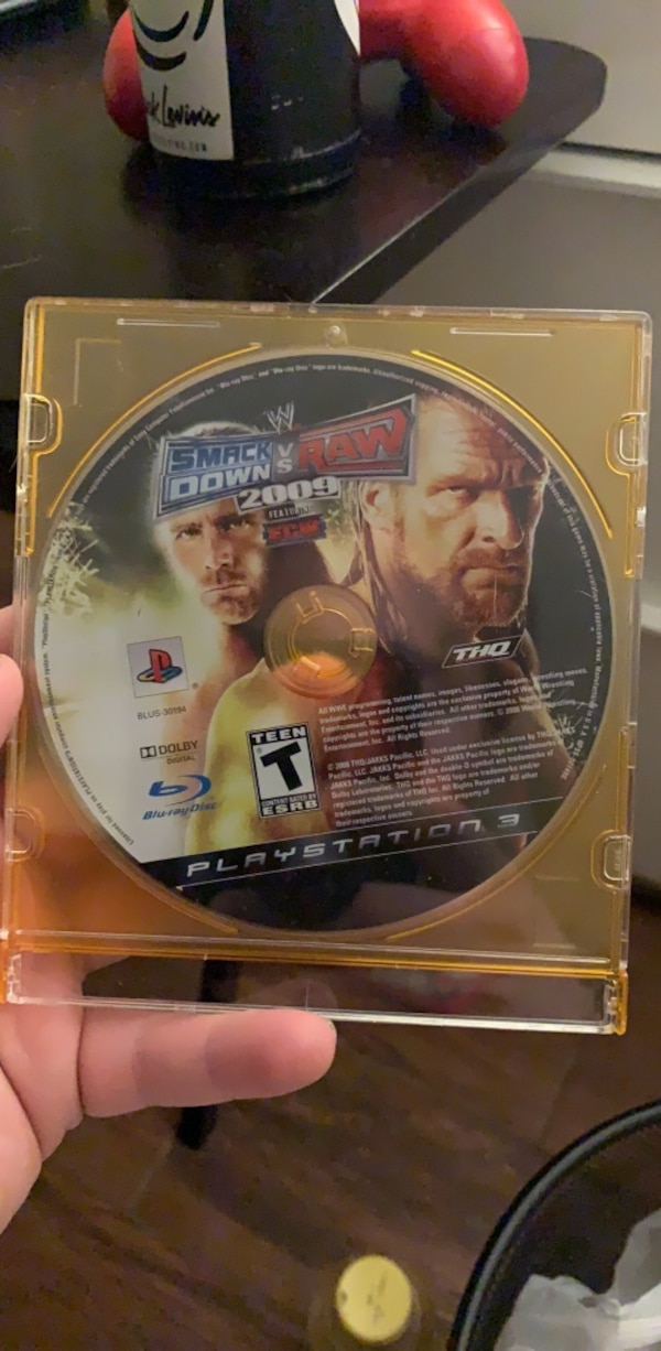 WWE Smackdown vs Raw 2009: Featuring ECW (PS3)