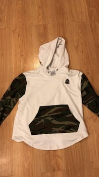 white and black pullover hoodie Guelph, N1L 0P9
